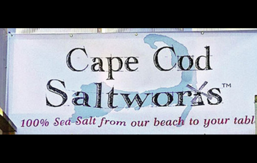 Cape Cod Saltworks sign