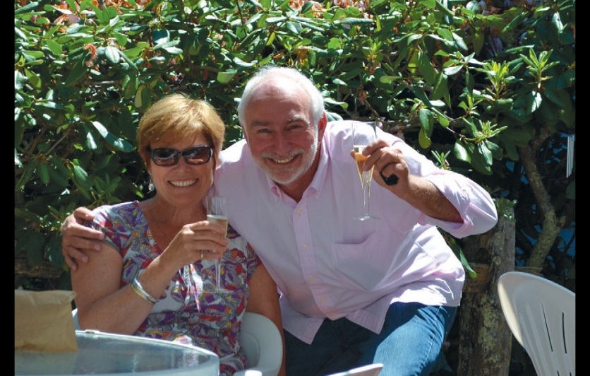 Jo-Anne and Richard Hoad, owners of The Parsonage Inn in East Orleans