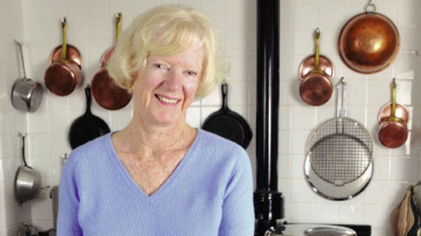 Nancy Thornley teaches cooking at her home in Cape Cod