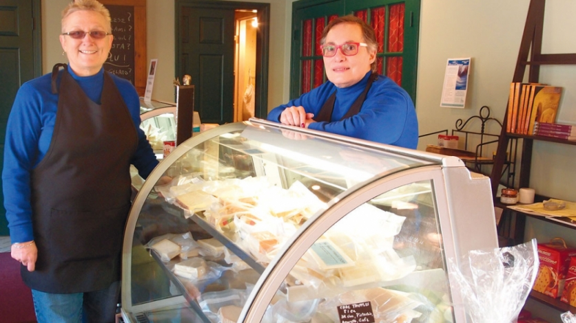 Joanne Benyo and Lu Matrascia, owners of Nonna Elena's on Route 6A in East Sandwich.