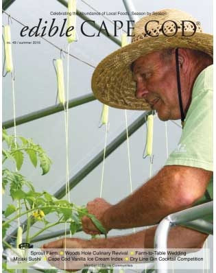 Edible Cape Cod Summer 2016 Issue 49 Cover