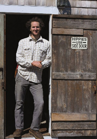 Lucas Dinwiddie is a young farmer of Halcyon Farm