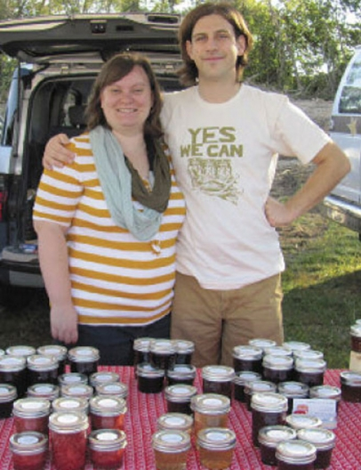Anna and Tyler Keyes promote company Little Bay Jams