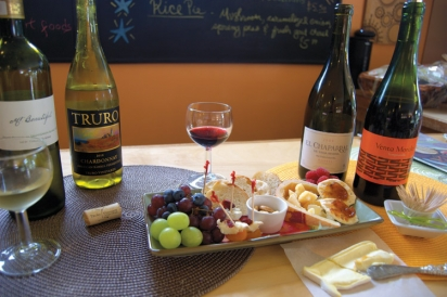 The Chatham Cheese Company has artisanal cheeses from around the world, and the wines that pair perfectly with them.