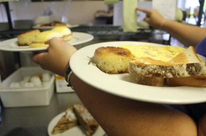 The Lazy Lobster in North Chatham serves up a delicious and hearty breakfast.