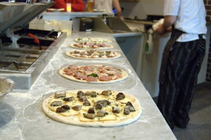 Pizza Barbone in Hyannis, MA, makes Neapolitan wood-fired pizzas in a beautiful handcrafted oven, built from scratch in Naples, Italy