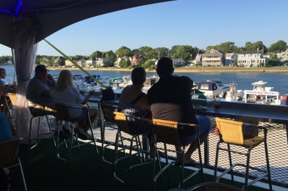 Stonebridge Bar and Grill features fresh, local ingredients served with a water view in every direction.