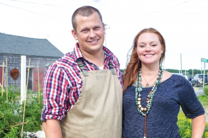 Chef Ceraldi and wife Jesse