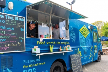 Doug Ramler and food truck