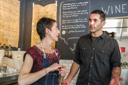 Karen Densmore and Christian Sparrow of Sunbird Kitchen