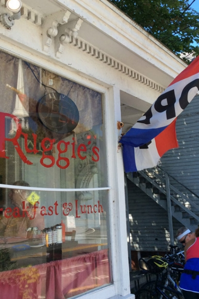 Ruggie's in Harwich Center is a popular townie spot for some sit-down hearty breakfast fare.