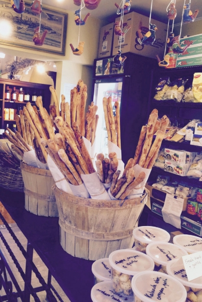 Various Italian breadsticks